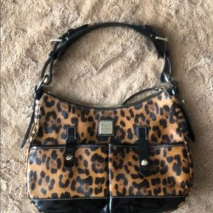 Dooney and Bourne leopard purse